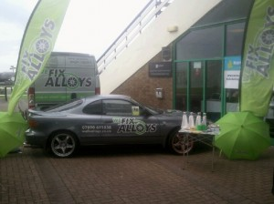 alloy wheel repair Newcastle on tour