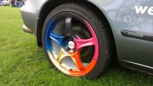 Clown wheel - alloy wheel repair Newcastle Project car