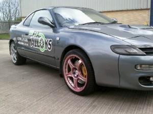 We Fix Alloys alloy wheel repair Newcastle custom finishes